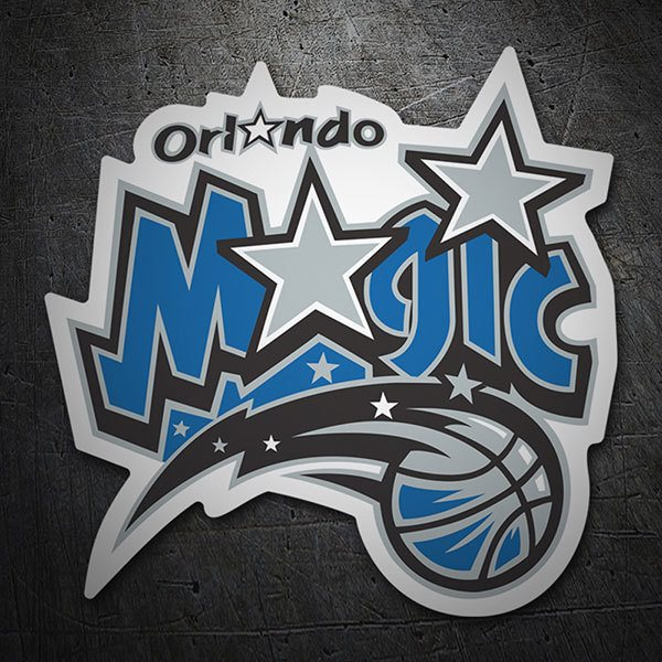 Pegatinas: NBA - Orlando Magic escudo antiguo