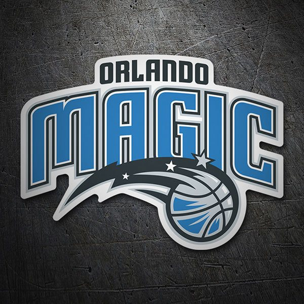 Pegatinas: NBA - Orlando Magic escudo 1