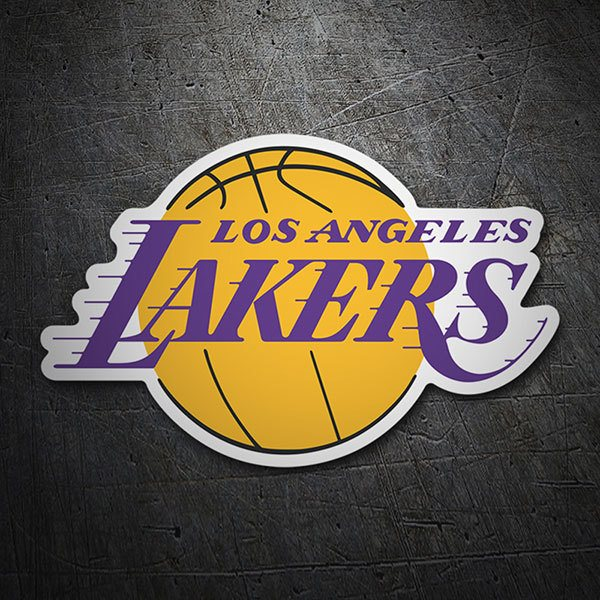 Pegatinas: NBA - Los Angeles Lakers escudo 1
