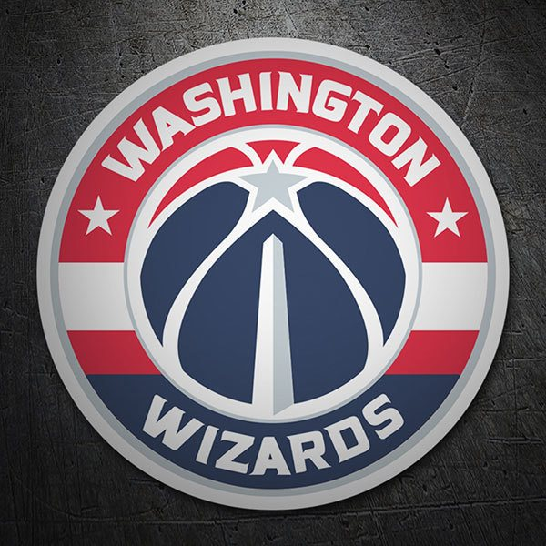 Pegatinas: NBA - Washington Wizards escudo