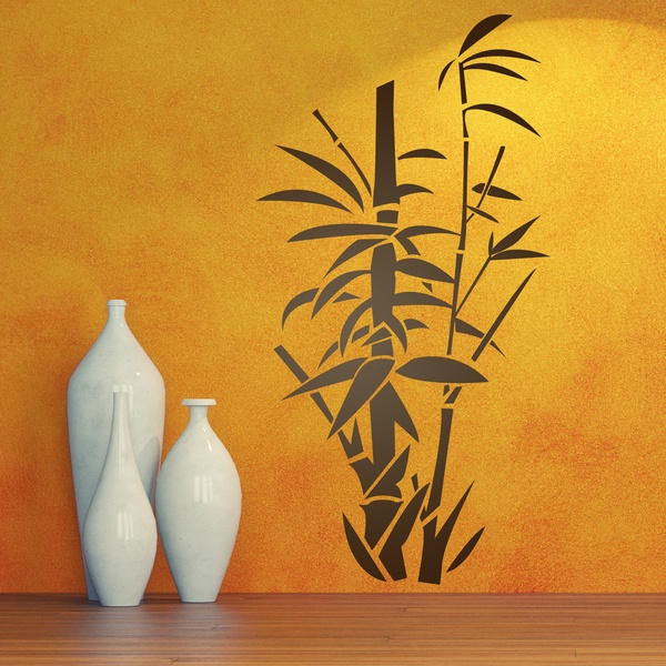vinilos decorativos caas de bamb