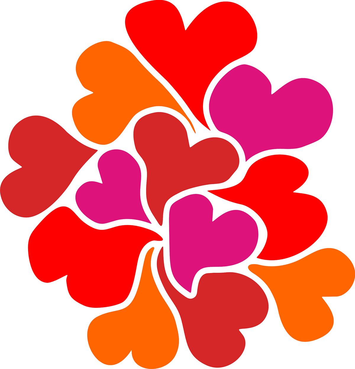 Vinilo decorativo corazones for Vinilos decorativos 3d