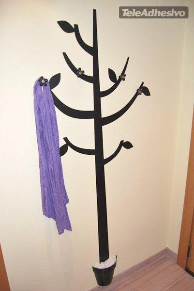 Rbol en forma de perchero - Percheros infantiles de pared ...
