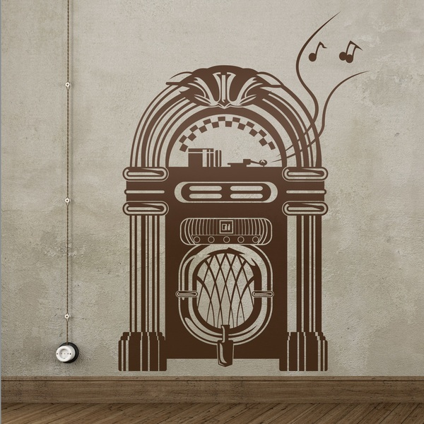 Vinilos Decorativos: Jukebox Wurlitzer