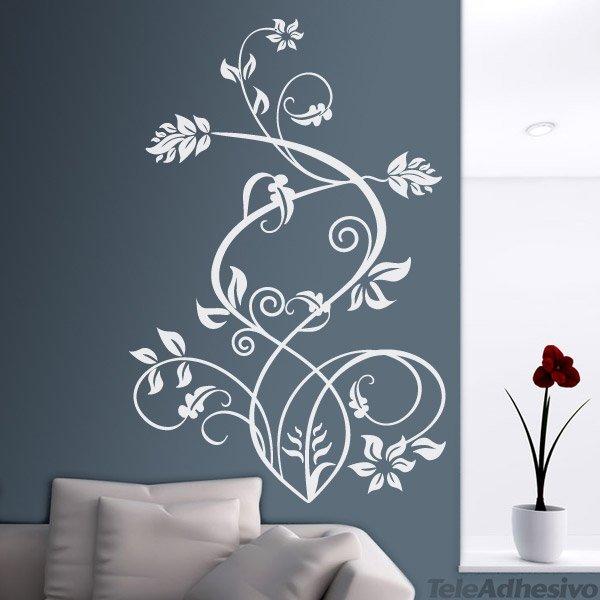 Vinilo decorativo floral sura for Vinilo decorativo madera