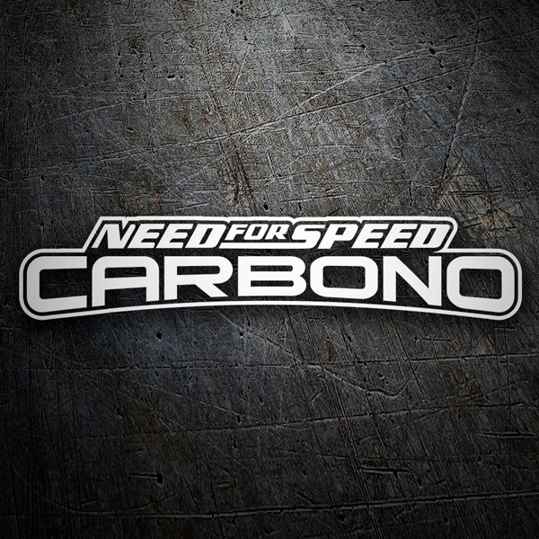 Pegatinas: Need for Speed Carbono