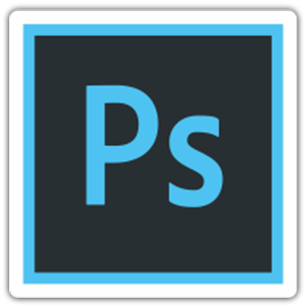 Pegatinas: Adobe Photoshop