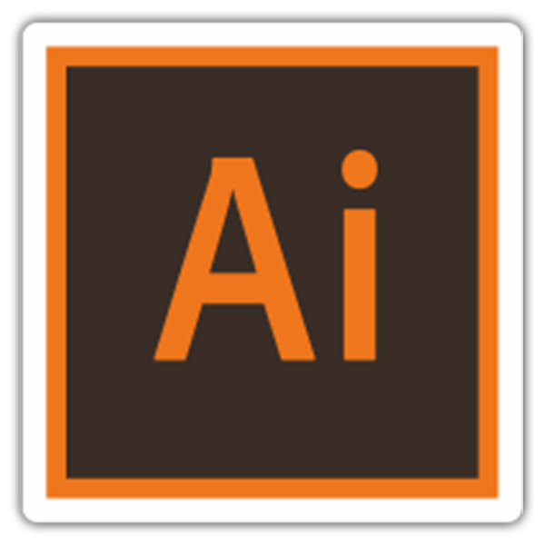 Pegatinas: Adobe Illustrator