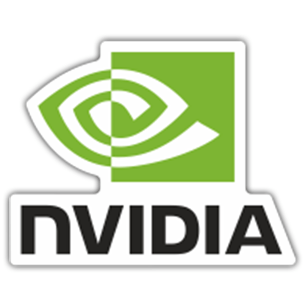 Pegatinas: NVIDIA Corporation 0