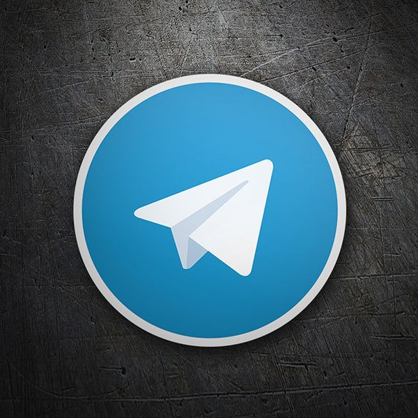 Pegatinas: Telegram Messenger 1