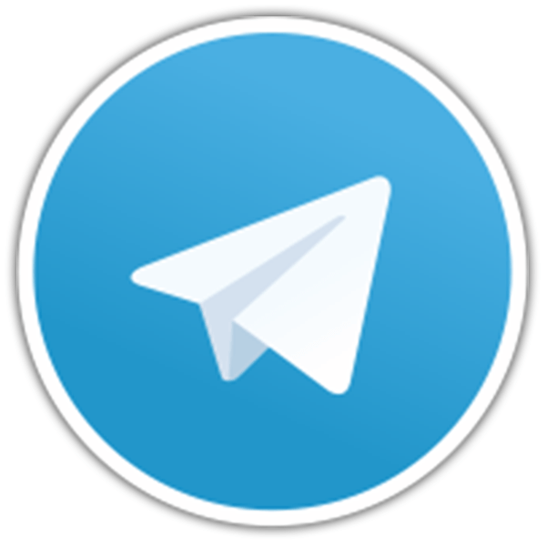 Pegatinas: Telegram Messenger