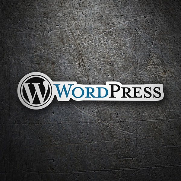 Pegatinas: WordPress 1