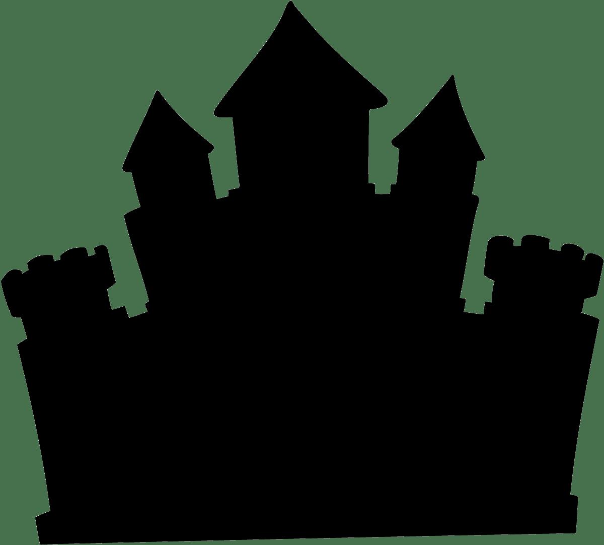 pizarra con la silueta de un castillo encantado disney halloween characters clipart disney halloween clip art pumpkin