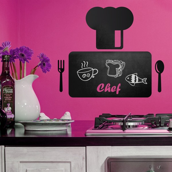 Vinilos Decorativos: Tabla del Chef 1