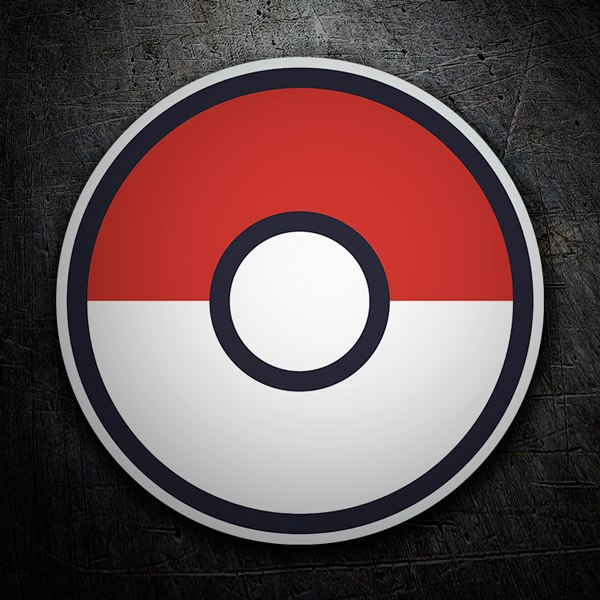 Vinilos Decorativos: Pokeball - Pokémon Go