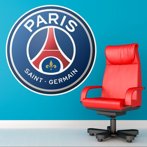 Vinilos Decorativos: Escudo Paris Saint Germain