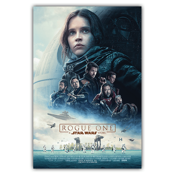 Vinilos Decorativos: Póster adhesivo Star Wars Rogue One 0