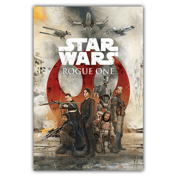 Vinilos Decorativos: Póster adhesivo Star Wars Rogue One Alliance
