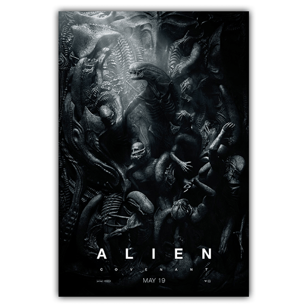 Vinilos Decorativos: Póster adhesivo Alien Covenant 0