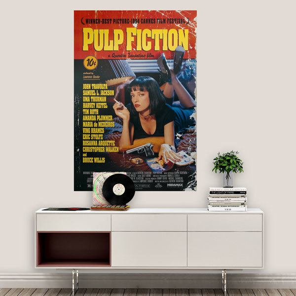 Vinilos Decorativos: Pulp Fiction