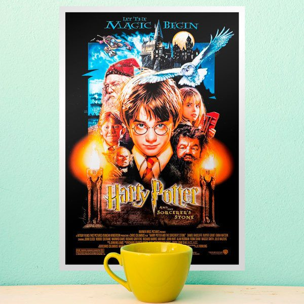 Vinilos Decorativos: Harry Potter y la piedra filosofal