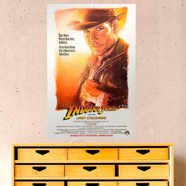 Vinilos Decorativos: Indiana Jones