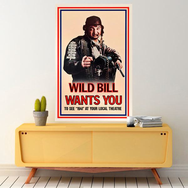 Vinilos Decorativos: Wild Bill wants you 1