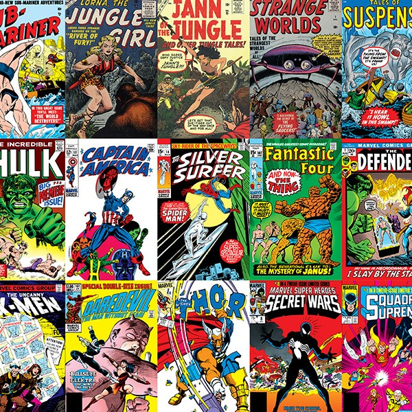 Vinilos Decorativos: Marvel Comics