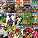 Vinilos Decorativos: Marvel Comics 3