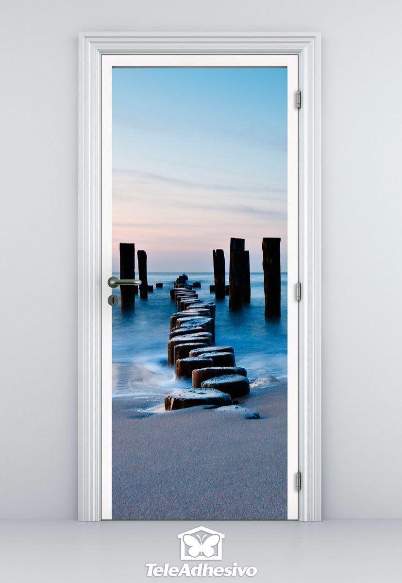 Comprar vinilos de puertas panor micas en teleadhesivo for Precio vinilo pared