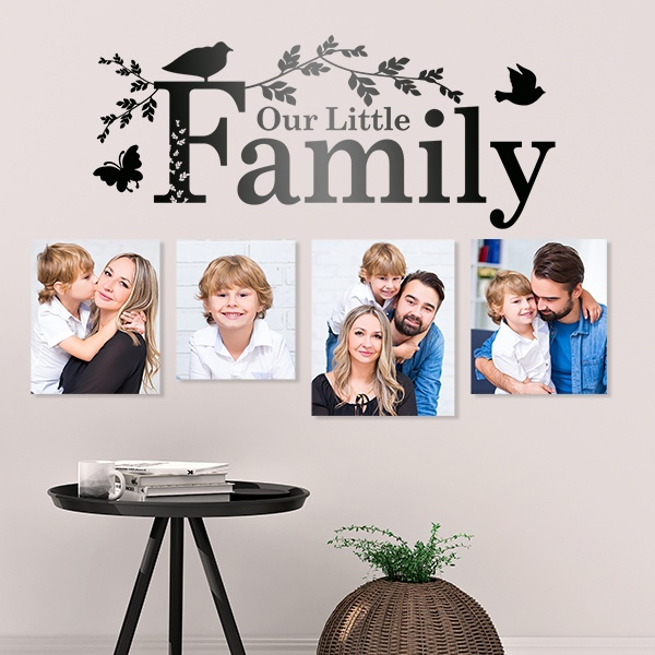 Vinilos Decorativos: Our family