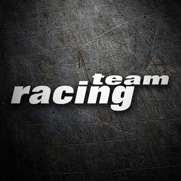 Pegatinas: Racing Team