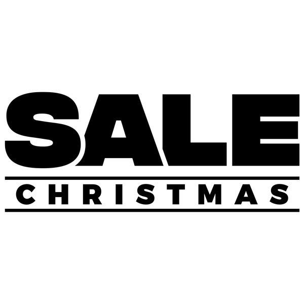 Vinilos Decorativos: Sale Christmas