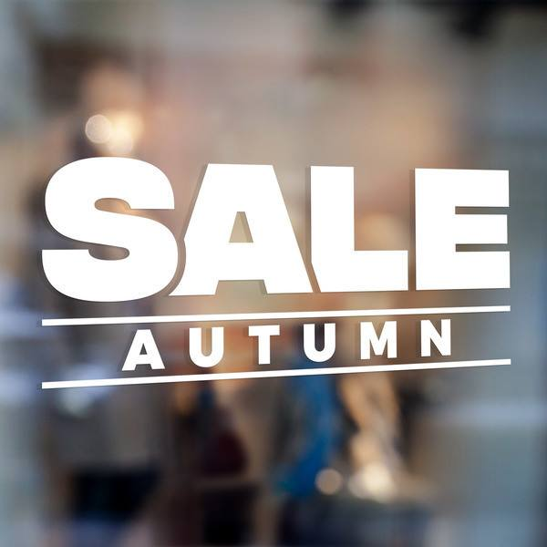 Vinilos Decorativos: Sale Autumn 0