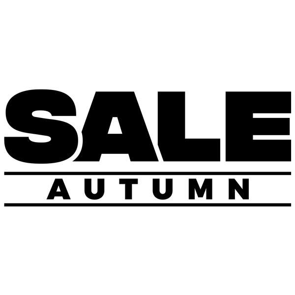Vinilos Decorativos: Sale Autumn