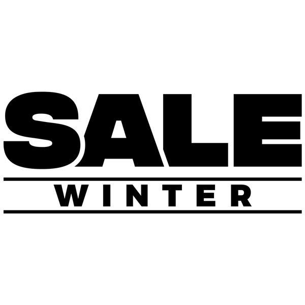 Vinilos Decorativos: Sale Winter