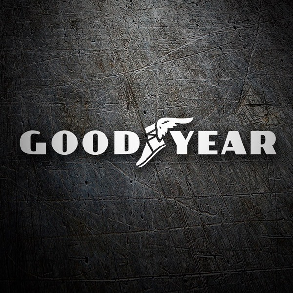 Pegatinas: Good Year logo clásico