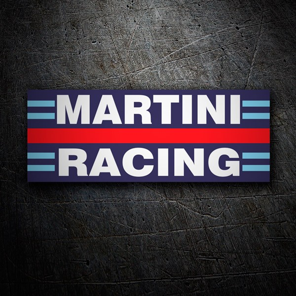 Pegatinas: Martini racing