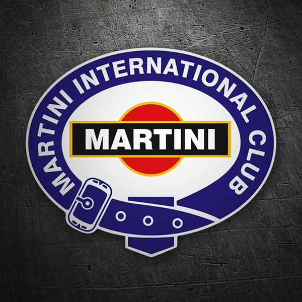 Pegatinas: Martini international club