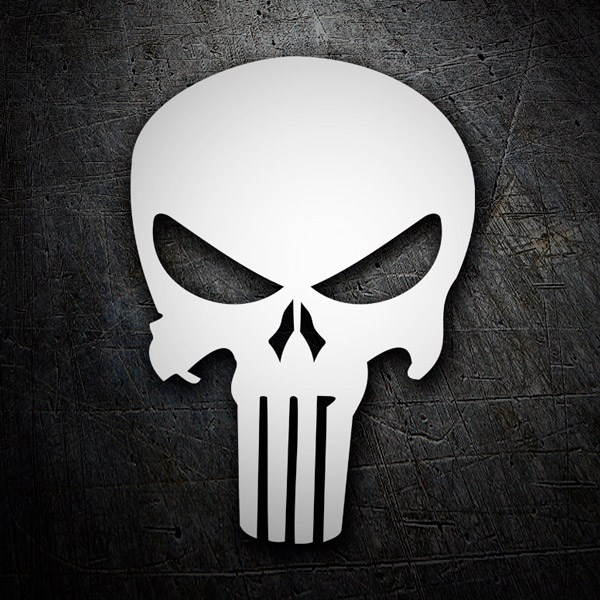 Pegatinas: Skull Punisher