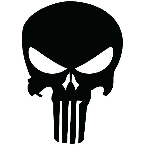 Pegatinas: The Punisher