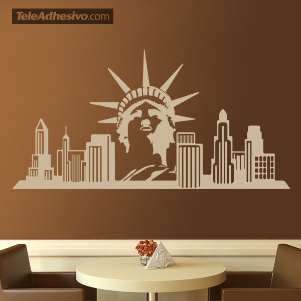 Vinilos Decorativos: New York Skyline
