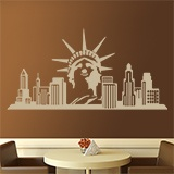 Vinilos Decorativos: New York Skyline 4