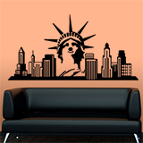Vinilos Decorativos: New York Skyline 5