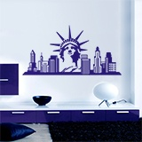 Vinilos Decorativos: New York Skyline 6