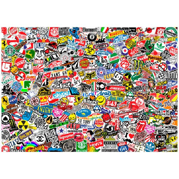 Pegatinas: Sticker Bomb XL