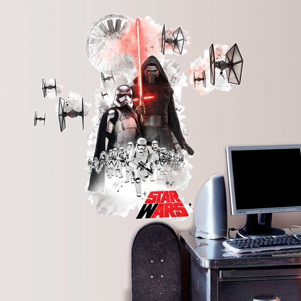 Vinilos Decorativos: Gran Vinilo Villanos Star Wars