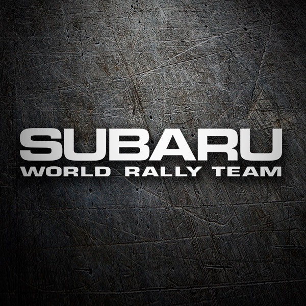 Pegatinas: Subaru World Rally Team 0