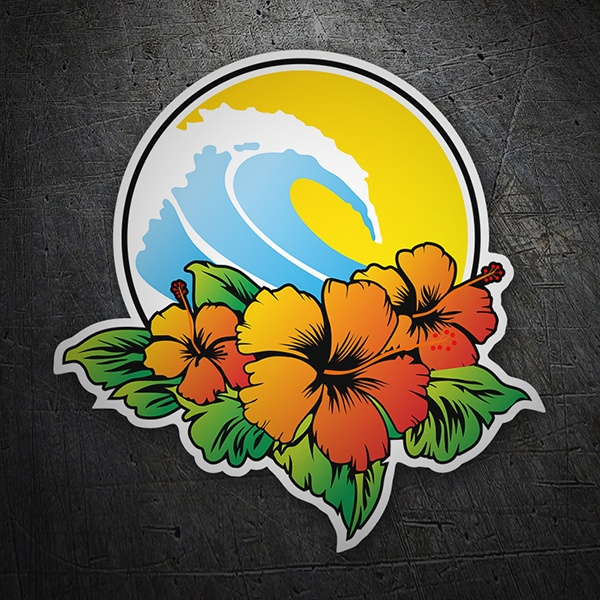 Vinilos Decorativos: surf beach