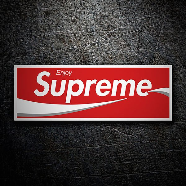 Pegatinas: Supreme Enjoy